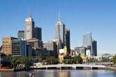 Melbourne city - Victoria - Australia — Stock Photo