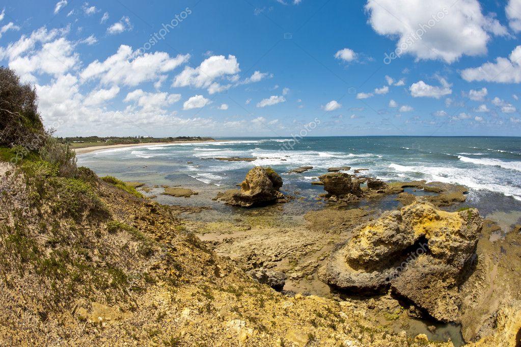 澳洲海边高清风景图片
