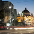 Flinders station view from flinders street - Melbourne - Austral — Stock fotografie #8436989