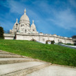 Stock Photo: Sacred Heart in Montmartre - Paris - France