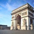 Royalty-Free Stock Photo: Arc de triomphe - Paris - France