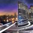 La defense by night - Paris - France — Stockfoto