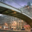 Stock Photo: Bridge over canal - Paris - France