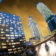 La defense by night - Paris - France — Foto de Stock