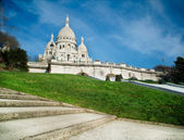 Sacred Heart in Montmartre - Paris - France — Stock Photo
