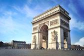 Arc de triomphe - paris - frankrijk — Stockfoto