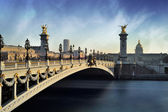 Alexandre 3 Bridge - Paris - France — Stock Photo