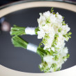 White wedding bouquet - Stockfoto