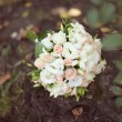 Pink and white wedding bouquet — Foto Stock