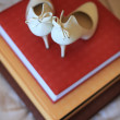 Bride wedding shoes - Foto de Stock  