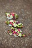 Wedding boutonniere — Stock Photo