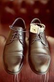 Man brown footwear — Stock fotografie