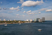 Přístavu port everglades — Stock fotografie