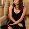 Little black dress — Stock Photo #9707535