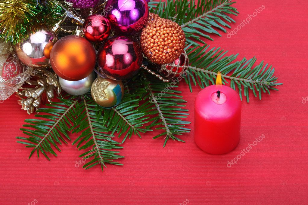 Christmas decorations — Stock Photo #7963001