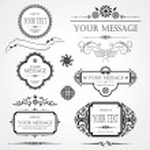 Set of design elements — Stock Vector #8612111