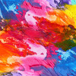 Abstract acrylic hand painted background — Stock Photo