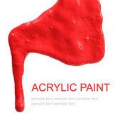 Abstrakt acryl gemalt hintergrund — Stockfoto