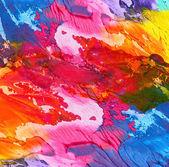 абстрактный акриловые ручной росписи фона — Стоковое фото