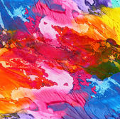 Abstract acrylic hand painted background — 图库照片