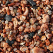 Closeup pebble on sea shore - Stock Photo