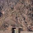 Authentic toilet in the desert — Stock Photo