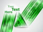 Green vector template — Stock Vector