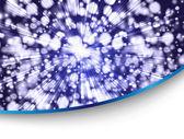 Mavi tarzı kartı — Stok Vektör