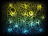 Digitale brieven — Stockvector