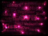 Pink background — Vecteur