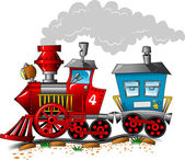 Red engine — Vector de stock