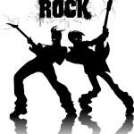Постер, плакат: Rock metal