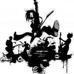 Постер, плакат: Rock the love