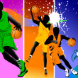 Club basketball champions — Image vectorielle