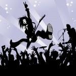 Explosive concert — Stock Vector #9966896