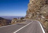Mountain road — Zdjęcie stockowe