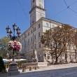City Hall in Lviv Market Square — Stock Photo