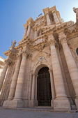 Cathedral in Siracusa — Stock Photo