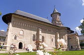 Christian orthodox monastery church — Stock Photo