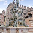 Neptune in Bologna - Stockfoto
