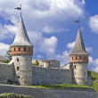 Stock Photo: Beautiful medieval castle in Ukraine