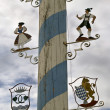 May pole in Bavaria - Stock Photo