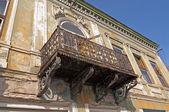 Decayed art nouveau building — Stock Photo