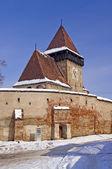 Fortified church in Transylvania Romania — Stock Photo