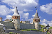 Beautiful medieval castle in Ukraine — Stock Photo