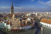 Cidade velha de sibiu — Foto Stock