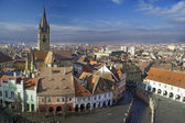 Sibiu old town — Stock Photo