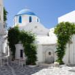 Stock Photo: Typical small street in a Greece