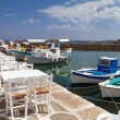 Port of Naoussa,  Paros island , Greece — Stock Photo