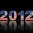 3d new year 2012 — Stock Photo #8317968